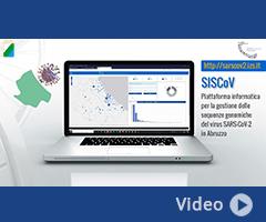 SISCoV - Sistema informativo per la visualizzazione e l'analisi delle sequenze del virus SARS-CoV-2 nella Regione Abruzzo